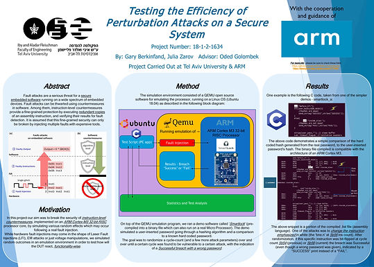testing the Efficiency of Perturbation Attacks on a Secure System