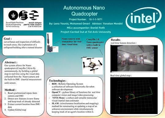 Autonomous Nano Quadcopter