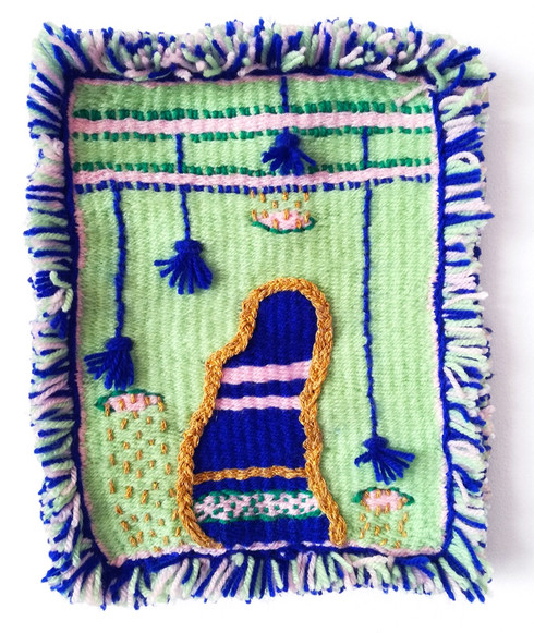 a woven verson of RUG no.2