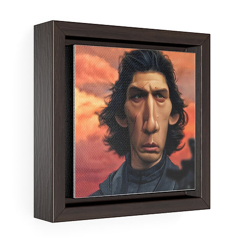 Bulman Pop-scene - Star Wars - Square Framed Premium Gallery Wrap Canvas