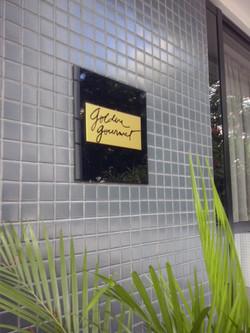 Sinalização Ed. Golden Garden