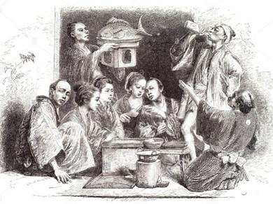 A cozinha, o fogo, a criança