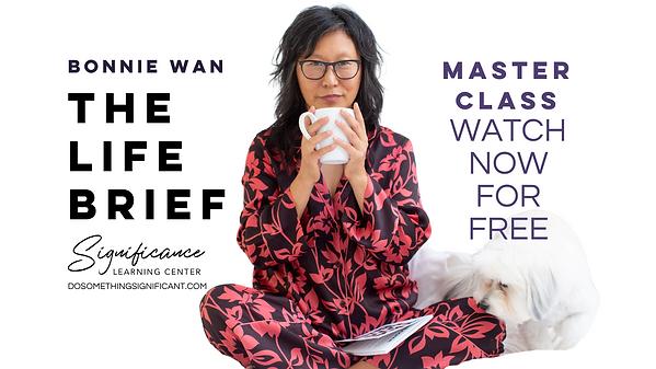 Bonnie Wan - The Life Brief - free maste