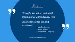Testimonial - Jack Stephenson