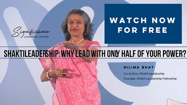 Nilima Bhat - Why Lead With Only Half of