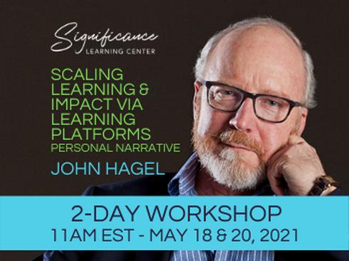 5/18 & 20/2021, 11AM EST: Scaling Learning & Impact Via Learnin