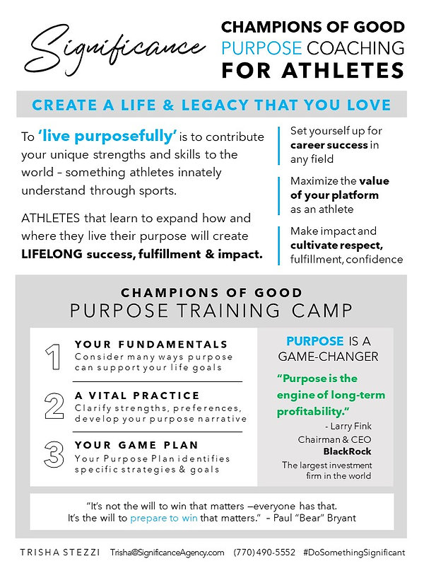 Significance_Athlete_Purpose_Training_Ca
