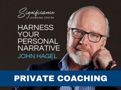Pkg of Three (3) 45-Minute Private Consults - Personal Narrative with John Hagel