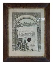 Orthopädie Aulenkamp Meisterbrief Friedrich Willhelm Aulenkamp 1908