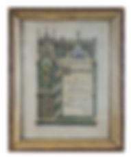 Orthopädie Aulenkamp - Ehrendiplom Friedrich Aulenkamp 1911