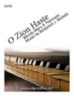 SDG Creative - O Zion Haste SATB