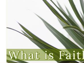 What Is Faith? [2-5-20]