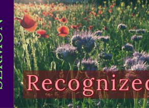 Recognized [3-22-20]