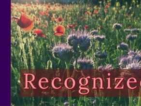 Recognized [3-22-20]