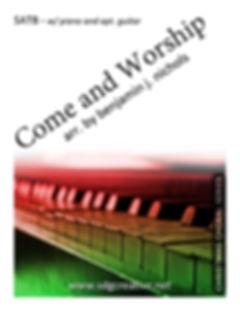 SDG Creative - Come And Worship SATB