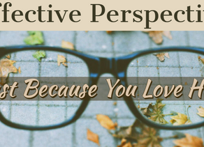 Effective Perspective - Just Because You Love Him