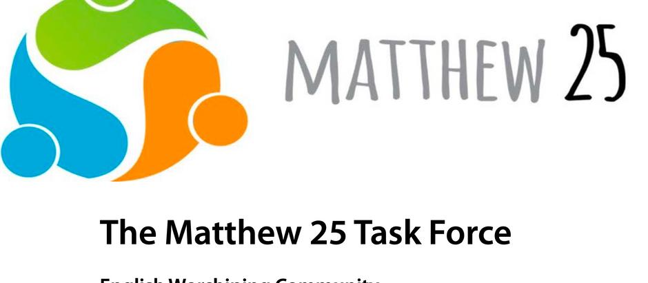 Matthew 25 Recommendation