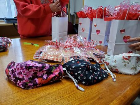 Women's Fellowship Celebrates Valentine's Day