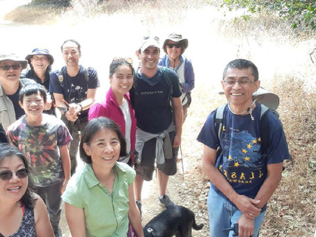 East Bay Covenant Group Hike on July 5
