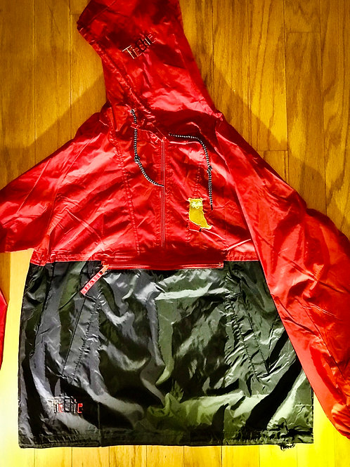 TiieChiie/ rough label windbreaker
