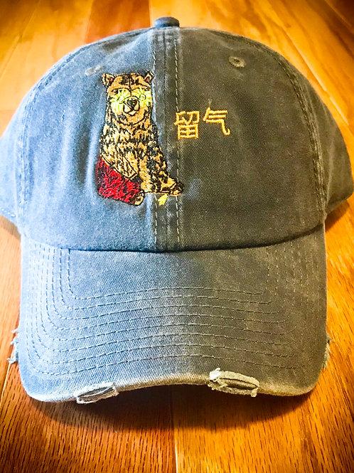 Blue/TiieChiie Polo Cap