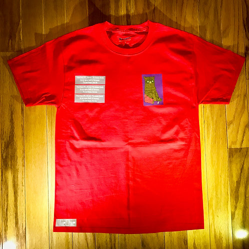Red Kung Fu Tee's