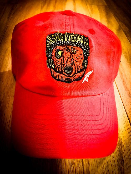 Red/TiieChiie Polo Cap