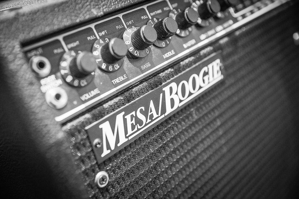 Mesa Boogie guitar amplifer