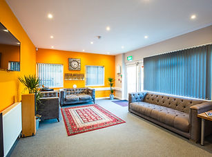 Rehearsal rooms and recording studios with clean, comfortable surroundings and chill out areas