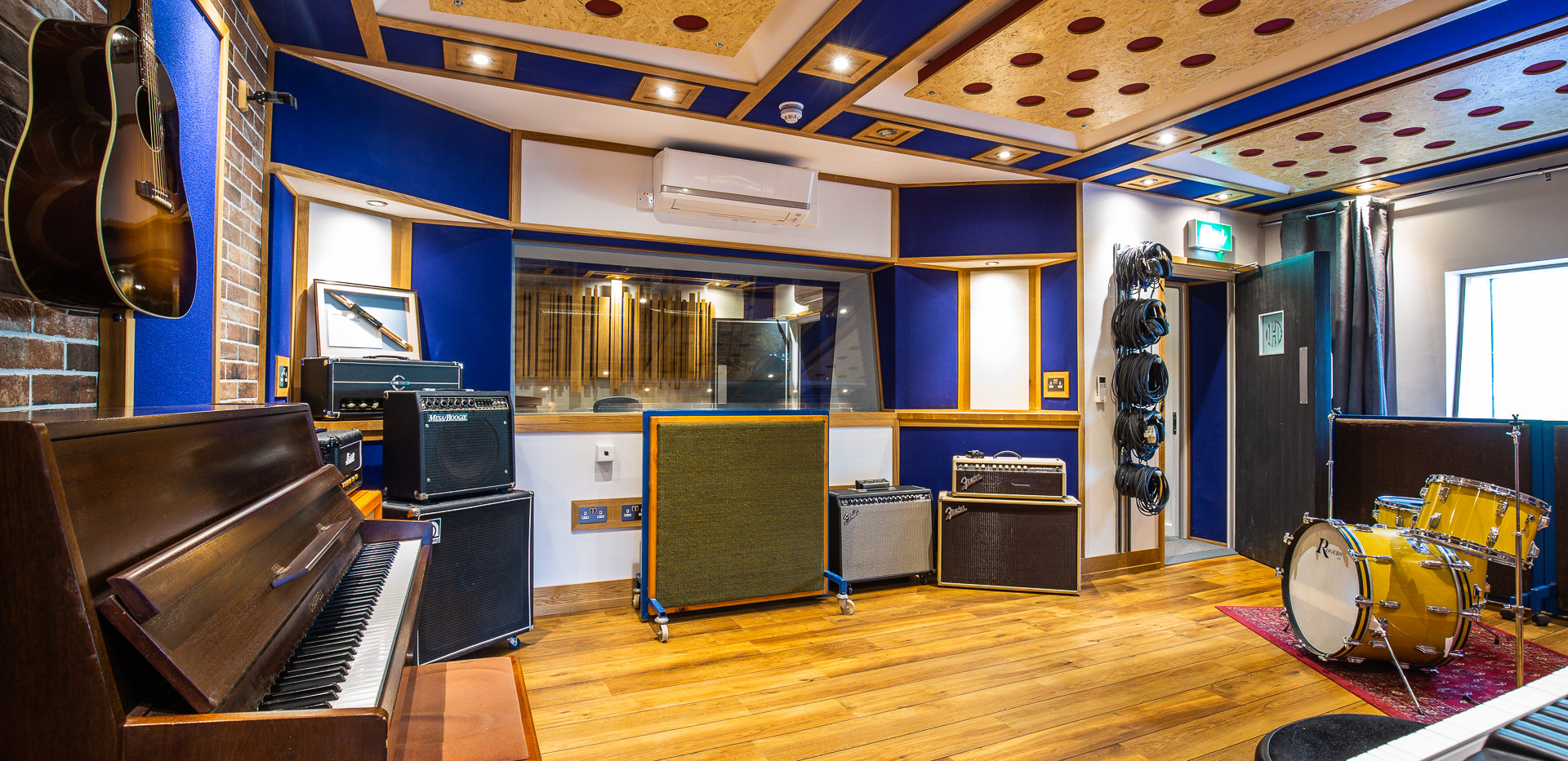 The Hive Rooms - RECORDING STUDIO A