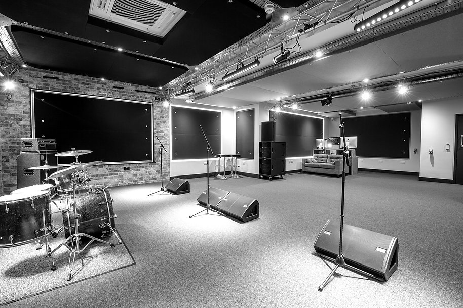 The Live Room - view from stage right