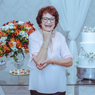 Tia Mira 90 Anos