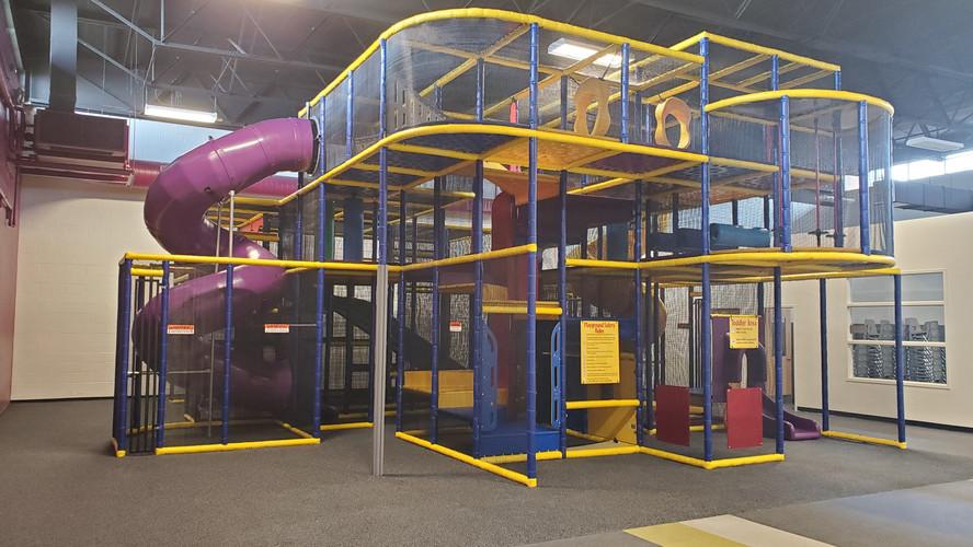 Indoor playground - after