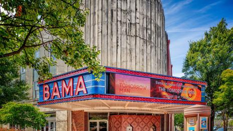 Bama Theatre Exterior