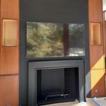 Back Panel & Fireplace Frame