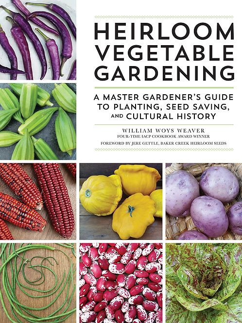 Heirloom Vegetable Gardening Book Autographed