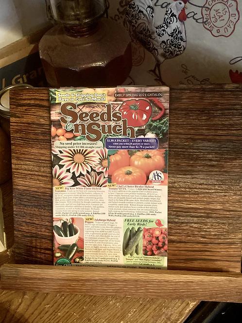 Handmade Cookbook Stand