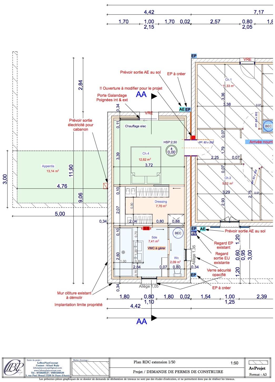 Plan Porte À Galandage plans | lebonplanconcept