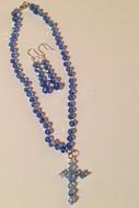 Classic Blue Crystal Set $25