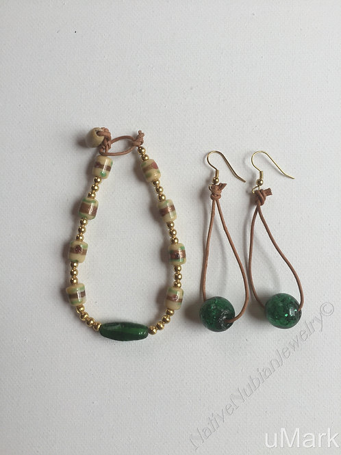 "Ifenkili- 9"" Ankle Bracelet Set"