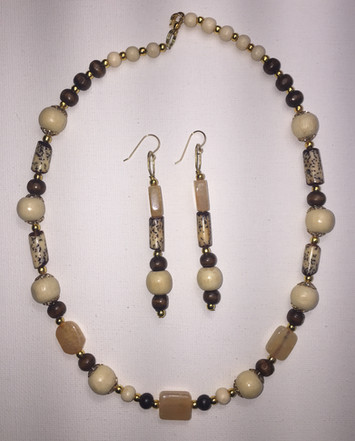 Tourmaline Necklace Set $30