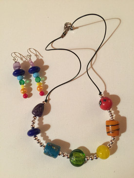 Chakra Necklace Set $30