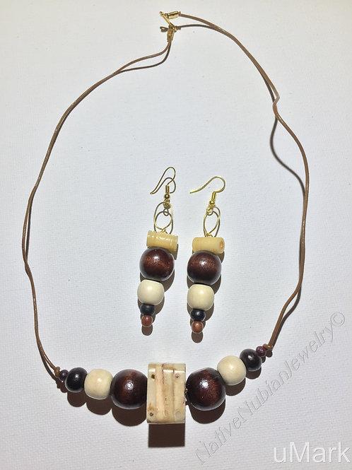"Tolutope- 21"" Necklace Set"