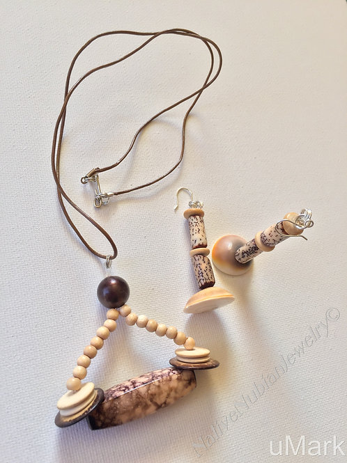 "Folami- 25"" Necklace Set"
