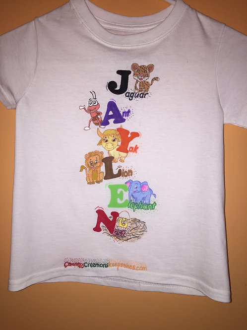 Order Your Child's Name (Pic. is Sample)