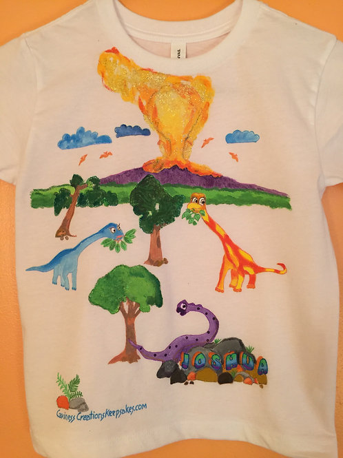 Order Your Child a Personalized Themed T-Shirt