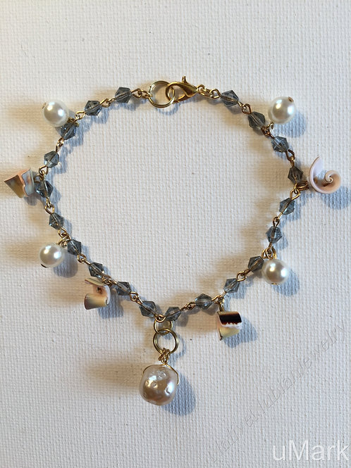 "Adebiyi- 9 1/4"" Ankle Bracelet (female)"