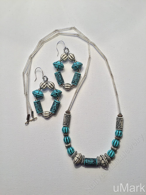 "Ikedi- 30"" Necklace Set"