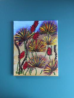 Desert Fan Flowers