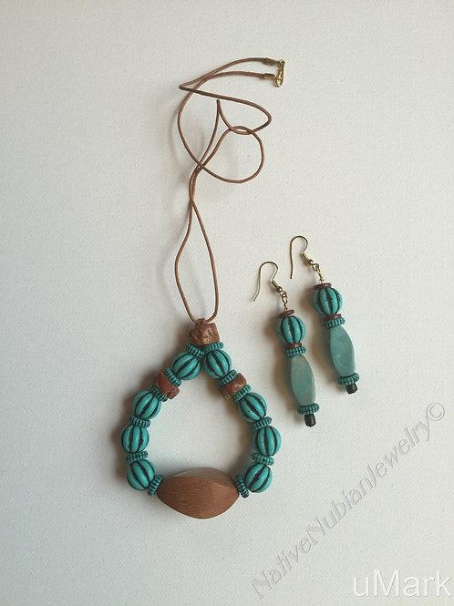 """Ngozi- 22"""" Necklace Set"""